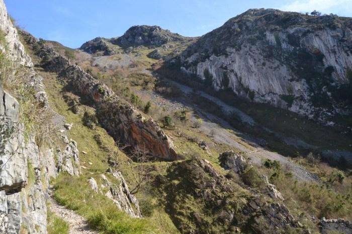 Camino del Desfiladero de las Xanas