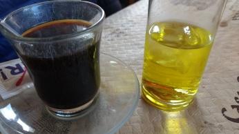 Café y chupito