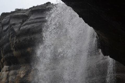 Detalle de la Cascada de la Mea