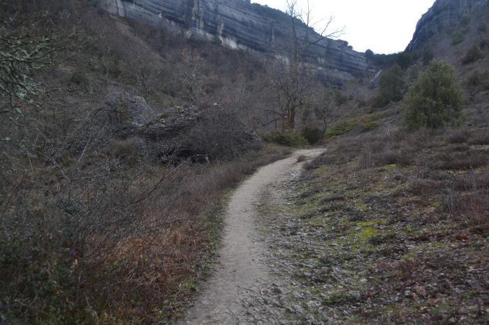 Inicio del sendero a la Cascada de la Mea