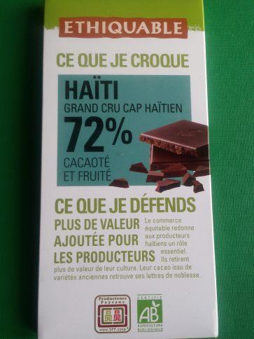 Chocolate 72% cacao