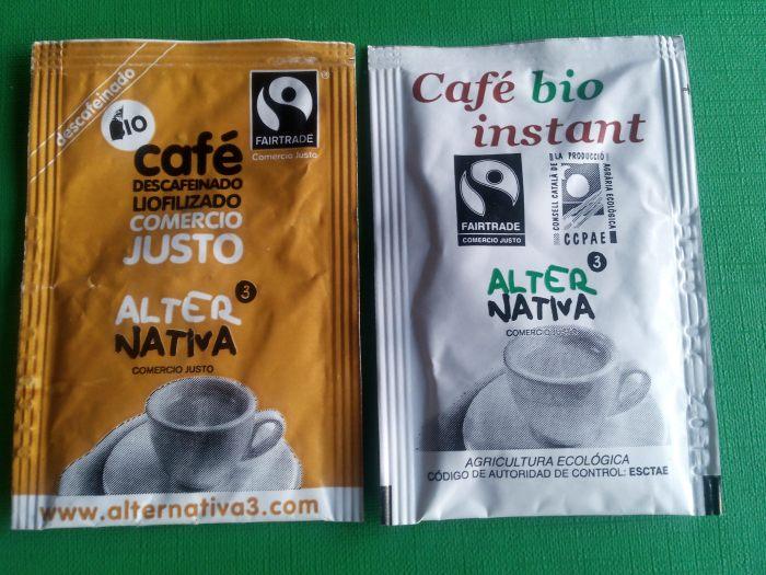 Café y descafeinado soluble