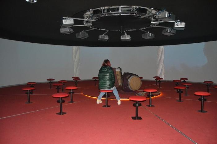 Sala de proyección de 360º