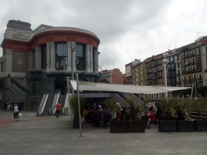Terraza del Restaurante La Ribera