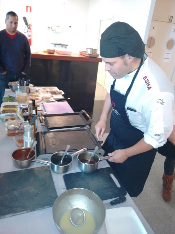 Igor en la cocina