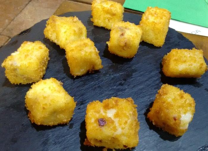 Croquetas cremosas de jamón