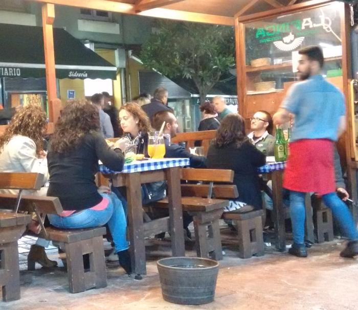 Terraza de La Finca de Oviedo