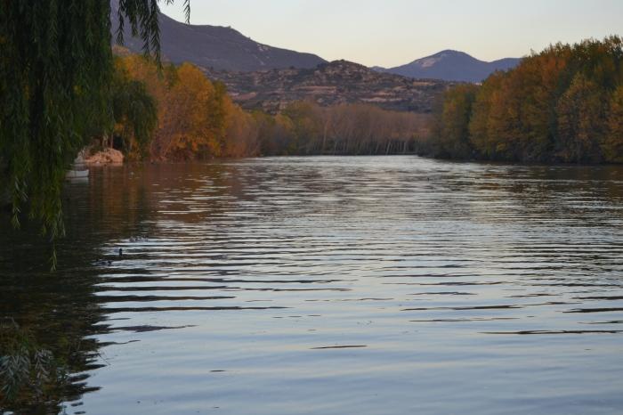Río Ebro desde el embarcadero