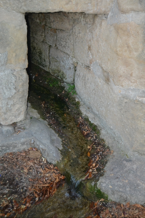 Desagüe de la Fuente de Briñas