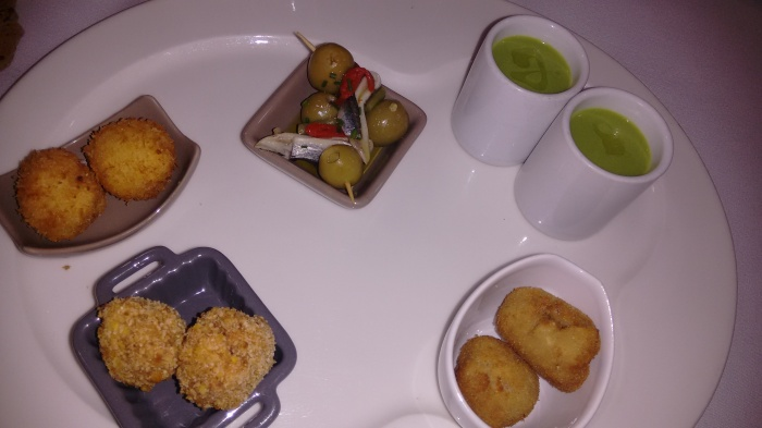 Cinco aperitivos