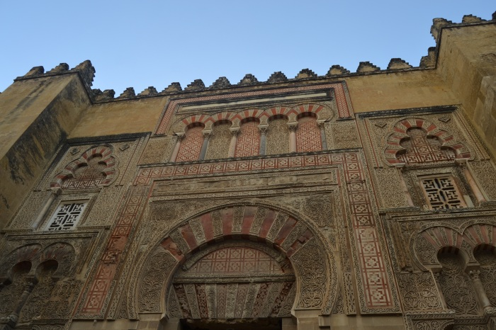 Fachada exterior de la Mezquita