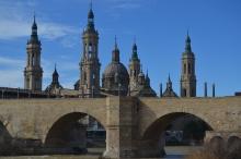 Puente de Piedra y Basílica del Pilar