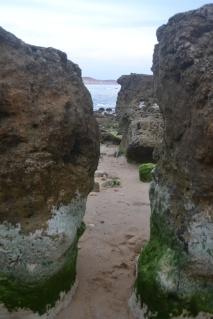 Laberinto de rocas