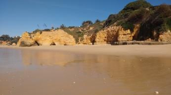 Parte este de Praia Maria Luisa