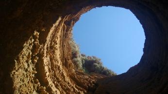 Vista desde una cueva