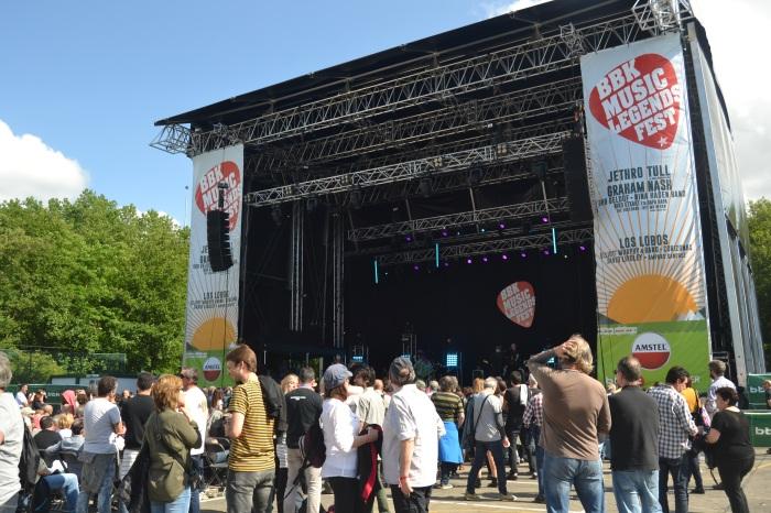 Escenario del BBK Music Legends Fest