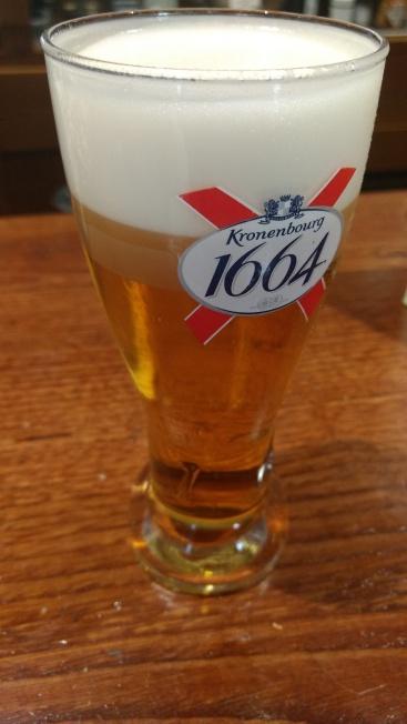 Caña de cerveza Kronenbourg 1666