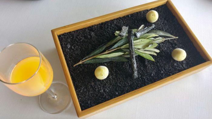 Aceituna helada y vermouth