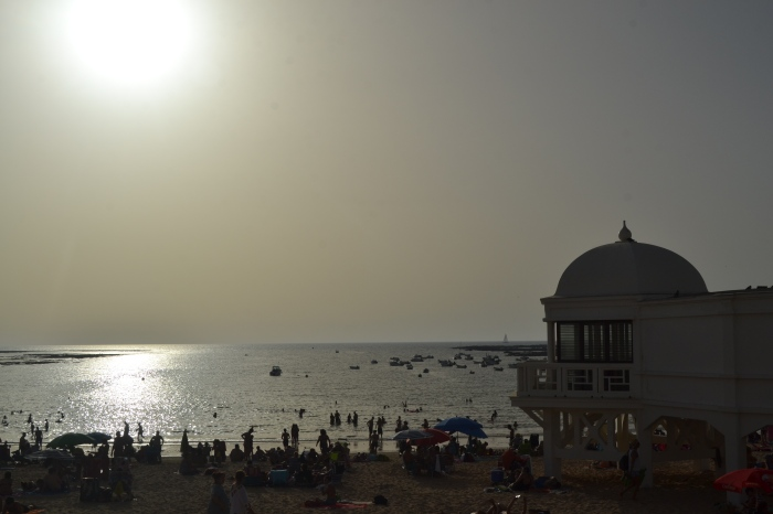 Playa de la Caleta en Cádiz