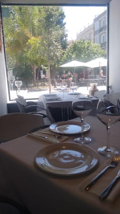 Comedor del Restaurante Código de Barra