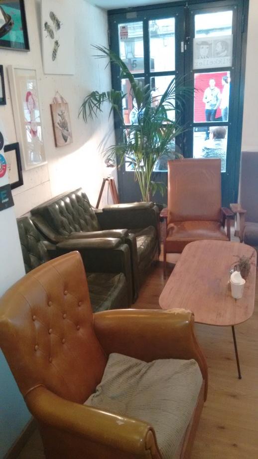 Sofas del Bihotz Café