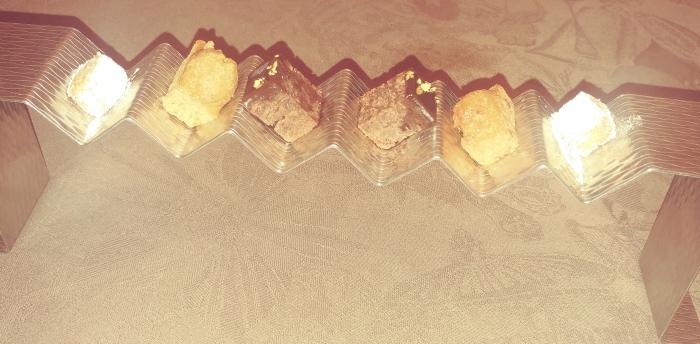 Petit fours dulces