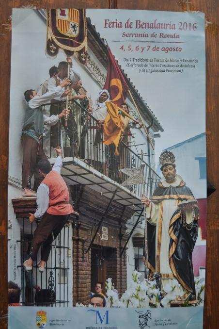 Cartel de la Feria de Benalauría