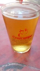 Caña de Cerveza Cruzcampo