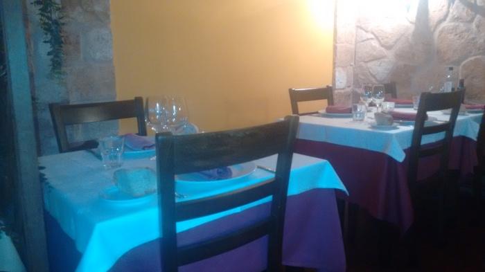 Comedor del Restaurante La Porticada