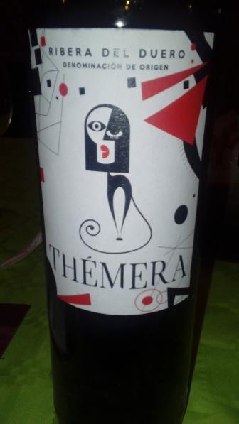 Vino tinto Thémera