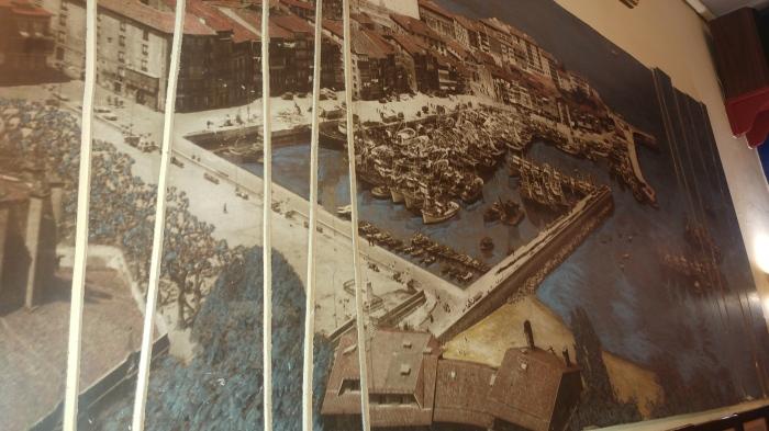 Foto del Puerto de Lekeitio de 1958