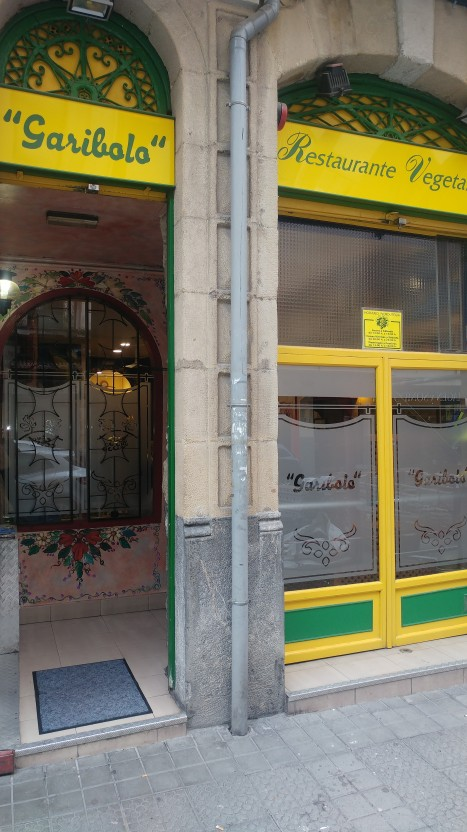 Restaurante vegetariano Garibolo de Bilbao