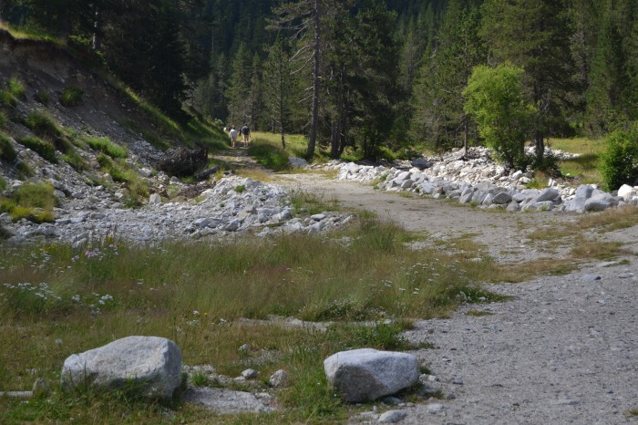 El inicio de la ruta desde Es Banhs de Trédos