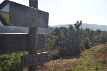 Cruce hacia Bustiello