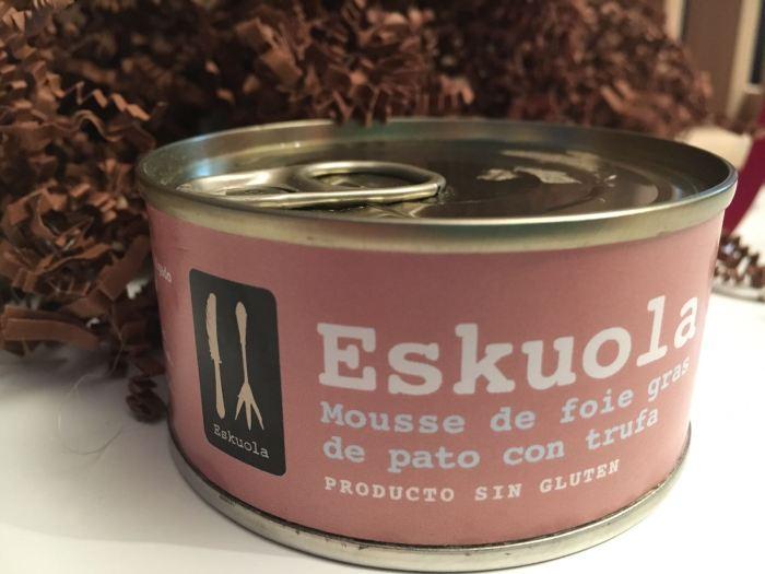 Mousse de Foie gras de Pato con trufa Eskuola