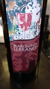 Vino tinto Marcelino Serrano