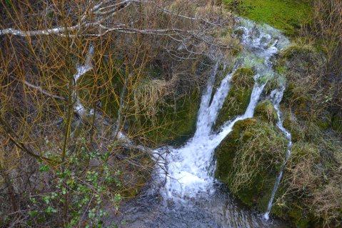 Río Júcar desde el puente de madera