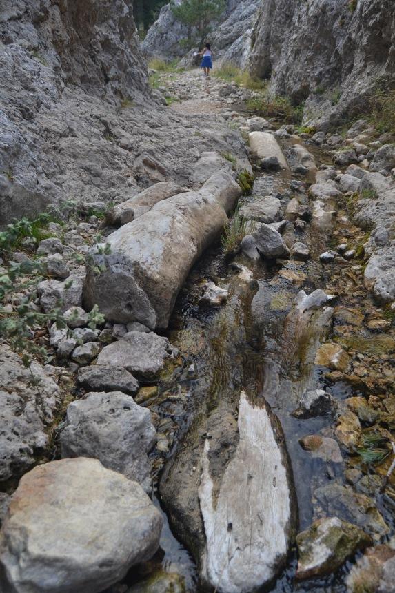 Río Júcar en el Estrecho del Infierno
