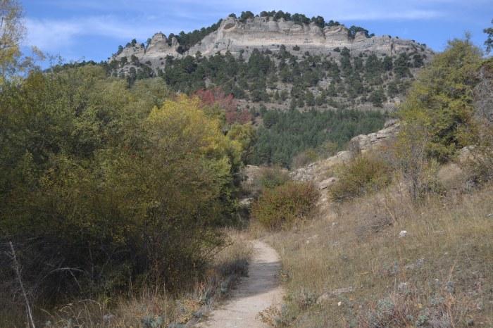 Camino del Mirador de la Cascada