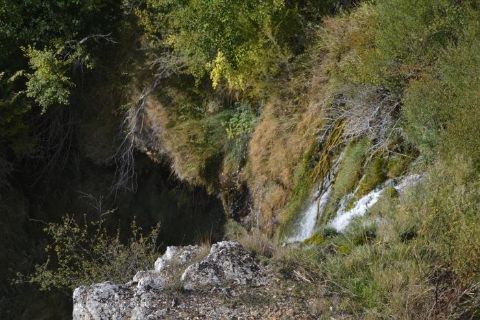 Cascada del Molino de la Chorrera desde el mirador