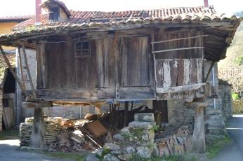 Hórreo en Villanueva
