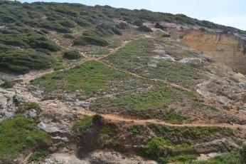 Camino de la costa del Algarve