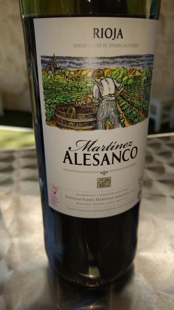 Vino Martinez Alesanco
