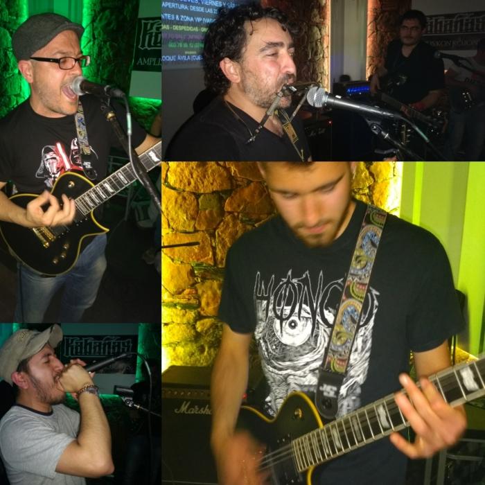 Momentos de la Jam Session en el Koqué de Ávila
