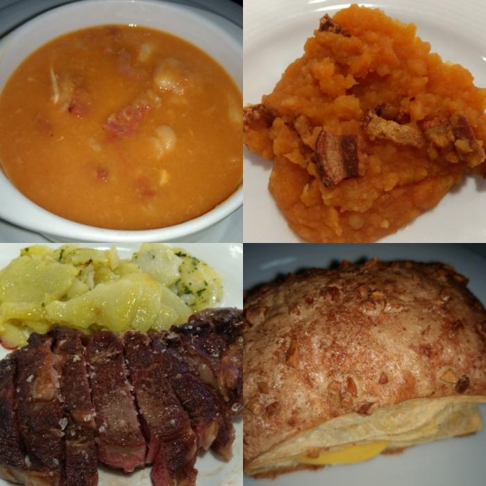 Menú típico de Ávila