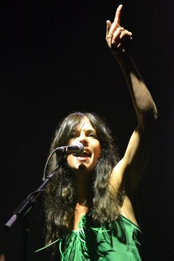 Sara Iñiguez del grupo Rubia