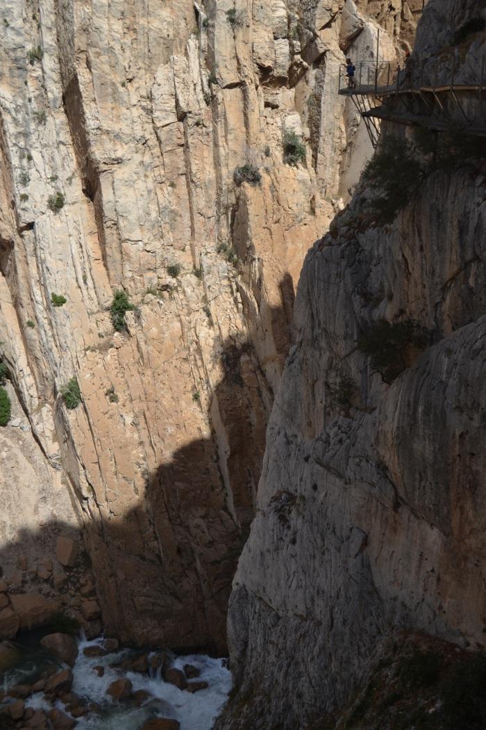 Balcón de cristal del Caminito del Rey