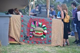Zona de restauración en Mundaka Festival Zona de restauración en Mundaka Festival